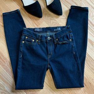 J Crew Toothpick Skinny Jeans Dark Wash